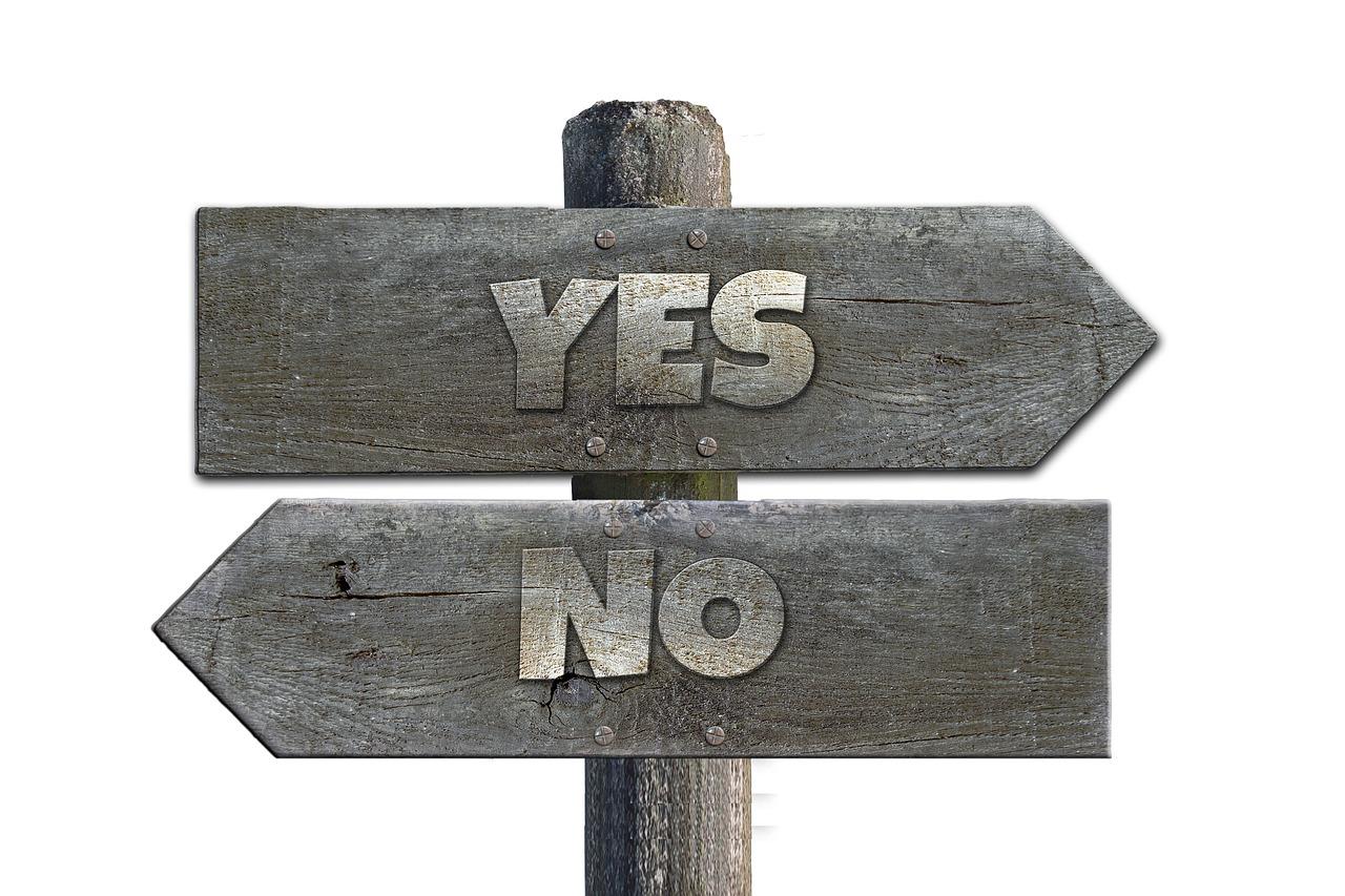 Savoir dire non. affirmation de soi. Confiance en ses besoins